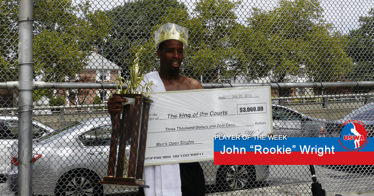 US Player of the Week John Rookie Wright