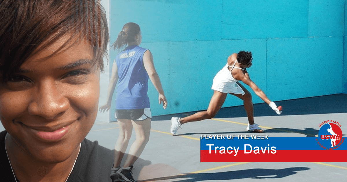 US Wall Ball Player of the Week Ttracy Davis