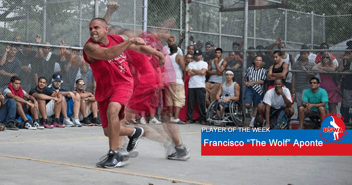 us wall ball player of the week francisco aponte